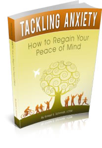 Tackling Anxiety: How to Regain Your Peace of Mind self help book with cognitive behavioral therapy methods